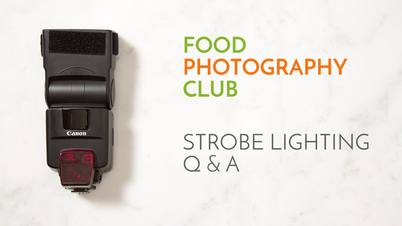 Strobe lighting Q & A